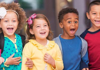Greece children smiling
