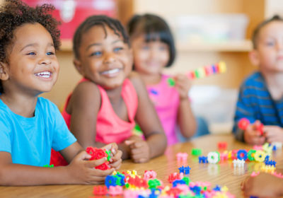 Greece children playing