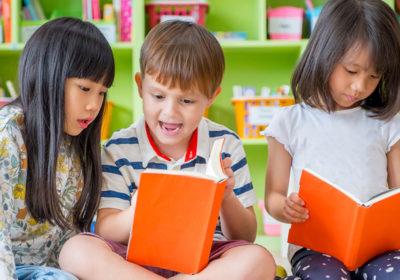 Pre-k children reading
